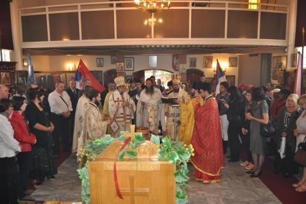 Proslava Tomindana u Africi 2013  (sveta arhijerejska liturgija)