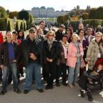Prosvjetari ispred parka Belvedere 1