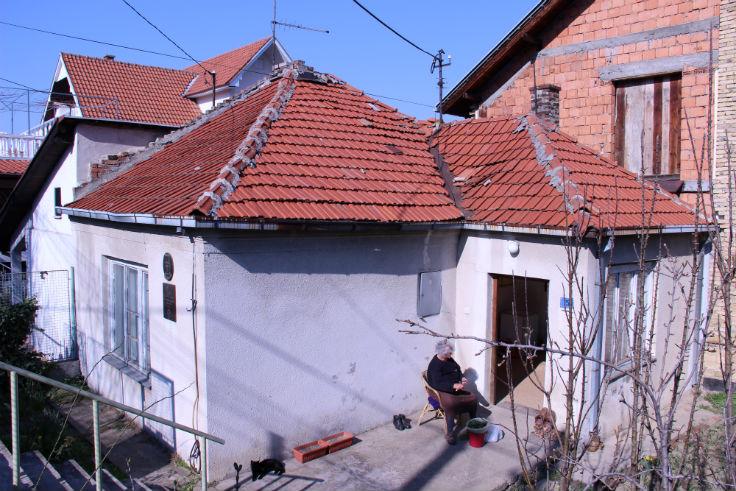 Кућа Милунке Савић на Вождовцу