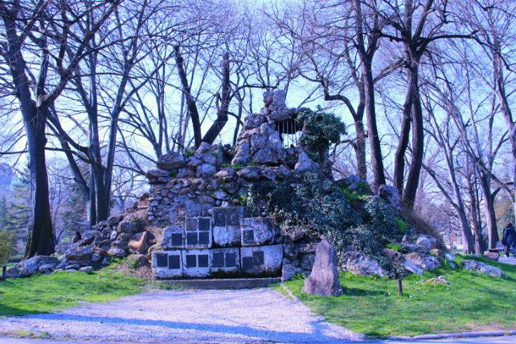 The observation post – from Kajmakčalana, Pionirski Park, Belgrade