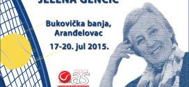 """Тениски камп """"Аранђеловац 2015″ и први Меморијални тениски турнир """"Јелена Генчић"""""""