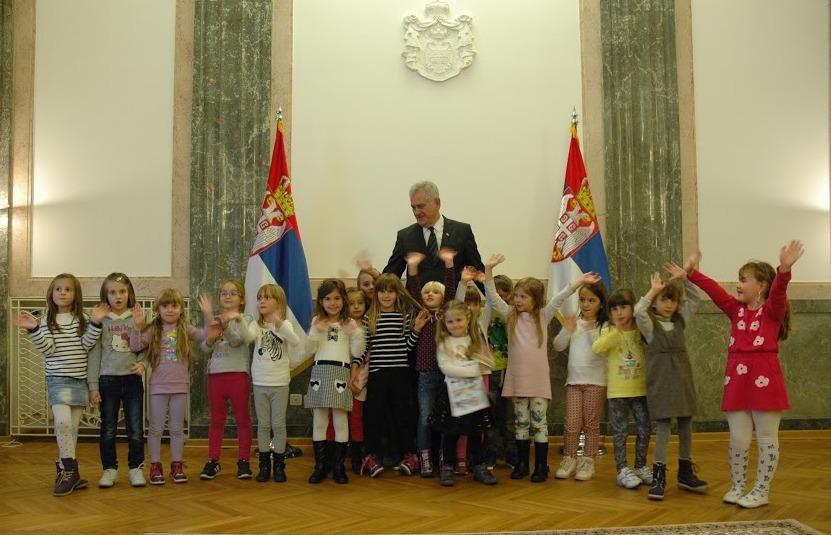 deca kod predsednika