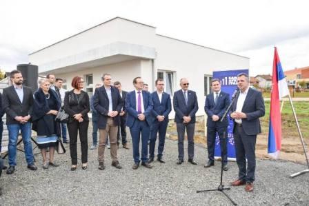 Polozen Kamen Temeljac Za Visenamenski Objekat U Petricevcu